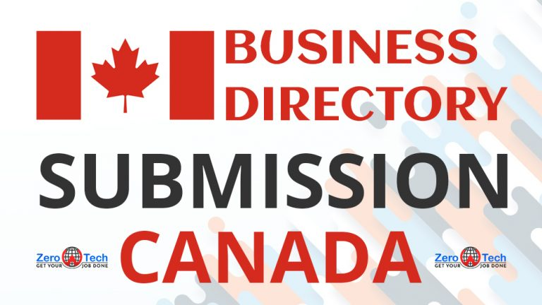 Business directory submission website list Canada