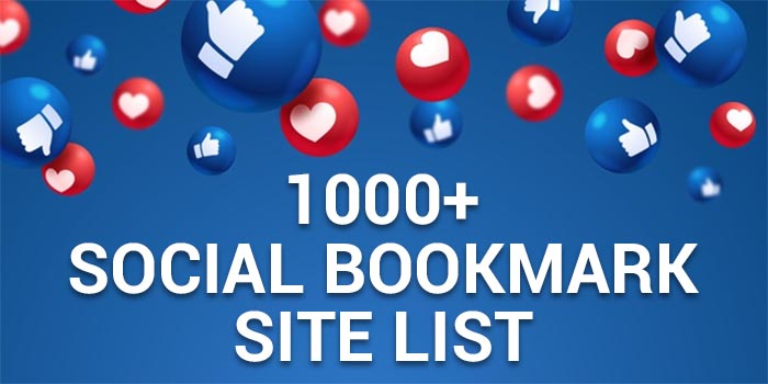 Social Bookmarking Site List