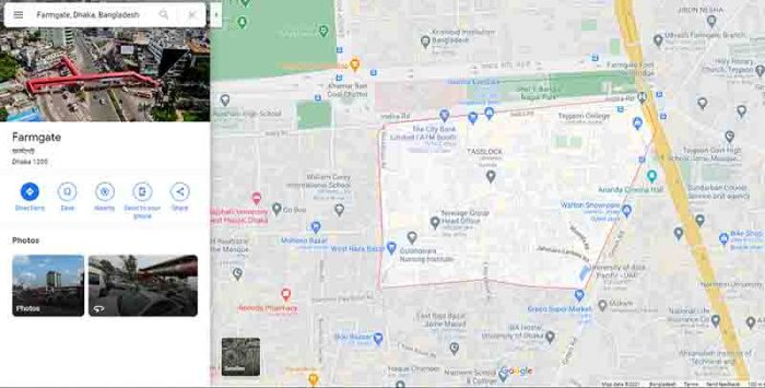 Google map demo for image optimization for image submission example-zerotechit
